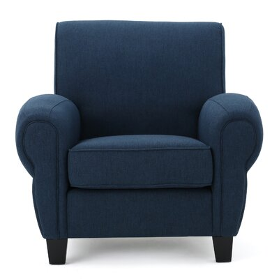 Whittemore Club Chair Upholstery: Dark Blue