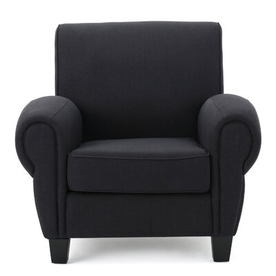 Whittemore Club Chair Upholstery: Dark Charcoal