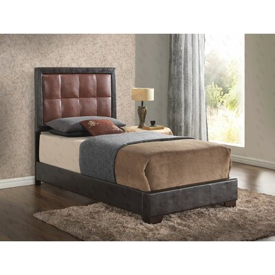 Barkbridge Upholstered Panel Bed Size: Twin