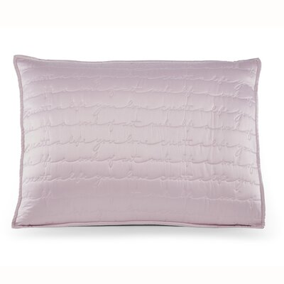 Westlund Sham Color: Pink, Size: King