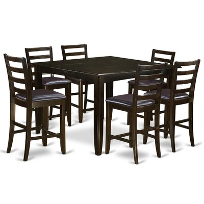 Tamarack 7 Piece Counter Height Dining Set