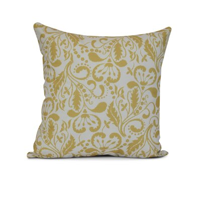 Harbin Throw Pillow Size: 16 H x 16 W x 3 D, Color: Gold