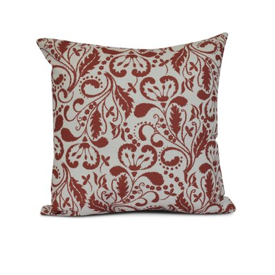 Rushton Outdoor Throw Pillow Size: 16 H x 16 W x 3 D, Color: Orange