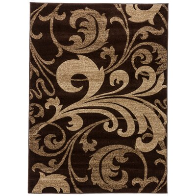 Waynesfield Fleur De Lis Geometric Area Rug Rug Size: Rectangle 92 x 126