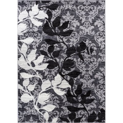 Vinewood Gray Area Rug Rug Size: 53 x 73