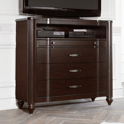 Ellerswick 3 Drawer Media Chest