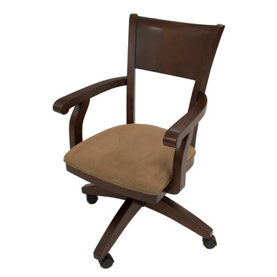 Arison Caster Arm Chair