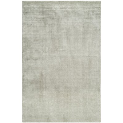 Barnabas Hand-Knotted Fog Area Rug Rug Size: Rectangle 6 x 9