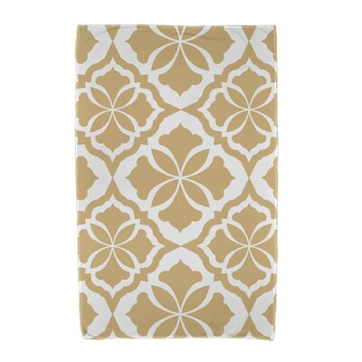 Ceylon Beach Towel Color: Gold