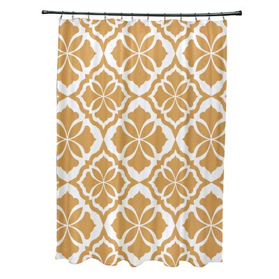Murdock Shower Curtain Color: Yellow