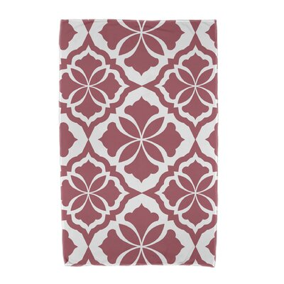 Ceylon Beach Towel Color: Red