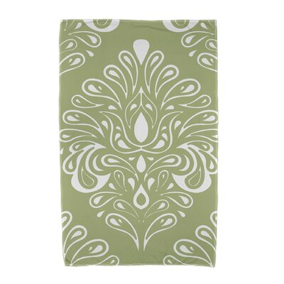 Veranda Beach Towel Color: Green