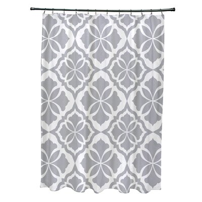 Murdock Shower Curtain Color: Gray