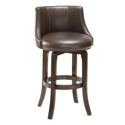 Croskey 29.75 Swivel Bar Stool Size: 36 H x 23.25 W x 23.25 D