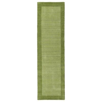 Attles Celery Area Rug Rug Size: Runner 26 x 89