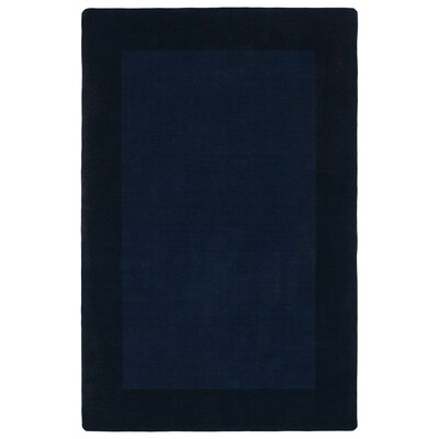 Attles Solid Kids Navy Area Rug Rug Size: 36 x 53