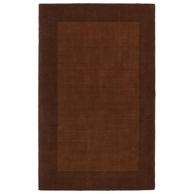 Attles Solid Kids Copper Rug Rug Size: 36 x 53