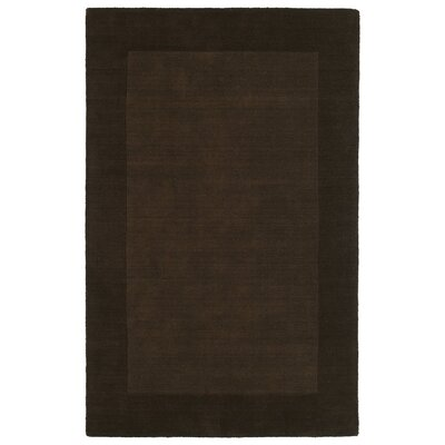 Attles Solid Kids Brown Rug Rug Size: Rectangle 8 x 10