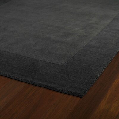 Attles Black Solid Kids Carbon Grey Rug Rug Size: Rectangle 5 x 79