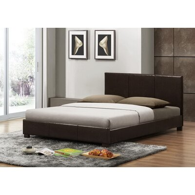 Carnegie Upholstered Platform Bed Size: Queen