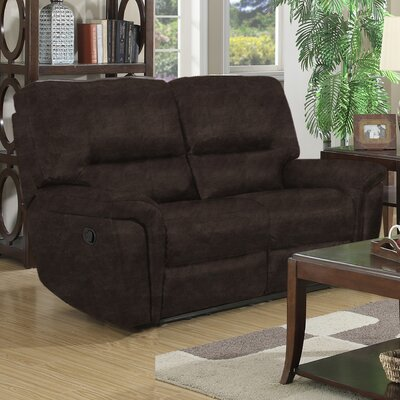 Bumpy Reclining Loveseat