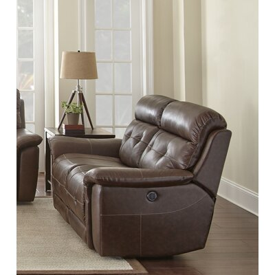 Abell Leather Loveseat