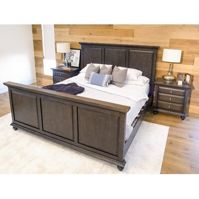 Dezirae Panel 3 Piece Bedroom Set Size: King