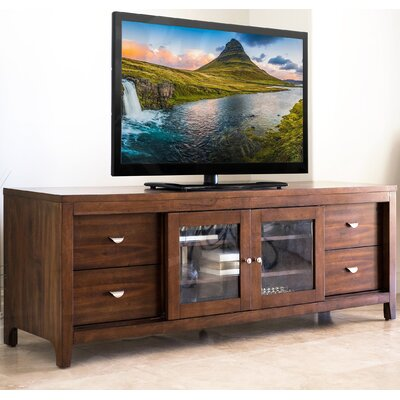 Brown TV Stand Finish: Acacia