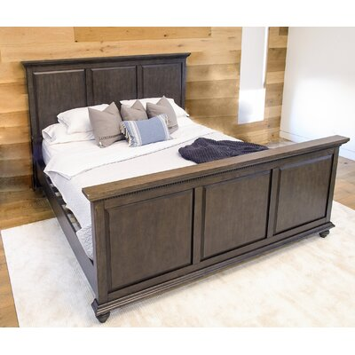 Dezirae Panel Bed Size: King