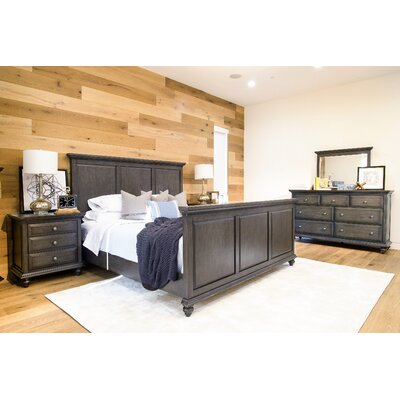 Dezirae Panel 5 Piece Bedroom Set Size: King