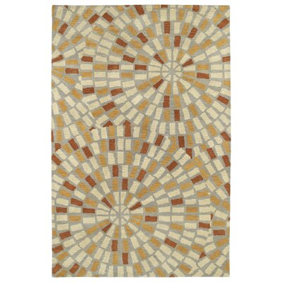 Marut Hand Tufted Beige/Brown Area Rug Rug Size: Rectangle 36 x 56