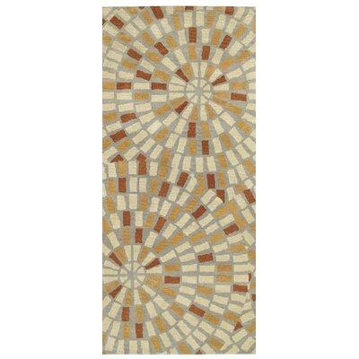 Marut Hand Tufted Beige/Brown Area Rug Rug Size: Runner 26 x 8