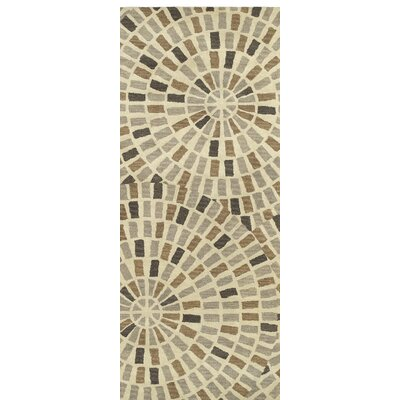 Marut Hand Tufted Brown/Beige Area Rug Rug Size: Runner 26 x 8