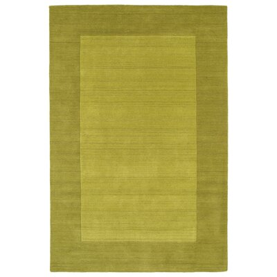 Barnard Hand Tufted Green Area Rug Rug Size: Rectangle 36 x 53