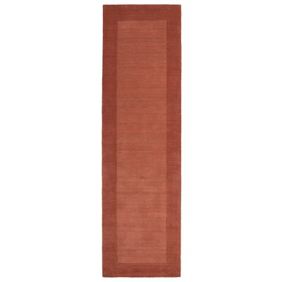 Barnard Hand Tufted Brown Area Rug Rug Size: Runner 26 x 89