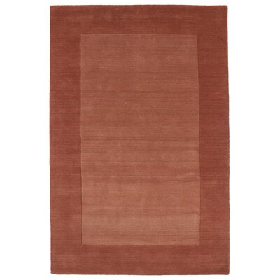 Barnard Hand Tufted Brown Area Rug Rug Size: 36 x 53