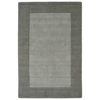 Barnard Hand Tufted Gray Area Rug Rug Size: 8' x 10'