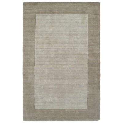 Barnard Hand Woven Wool Ivory/Beige Area Rug Rug Size: Rectangle 36 x 53