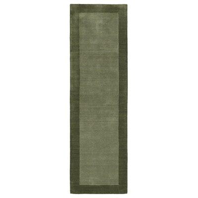 Barnard Fern Area Rug Rug Size: Runner 26 x 89