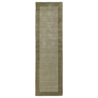 Barnard Hand Woven Wool Taupe Area Rug Rug Size: Rectangle 8 x 10