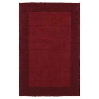 Barnard Red Area Rug Rug Size: Rectangle 8 x 10
