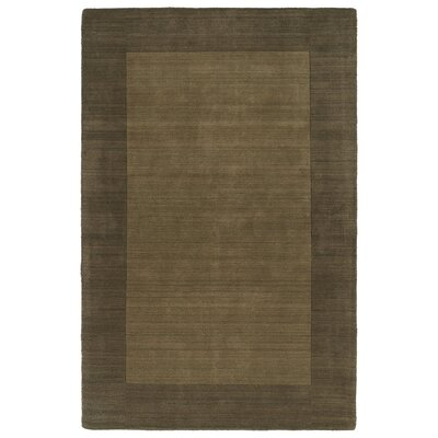 Barnard Chocolate Area Rug Rug Size: Rectangle 36 x 53