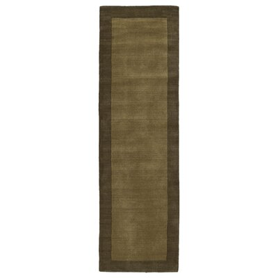Barnard Chocolate Area Rug Rug Size: Runner 26 x 89
