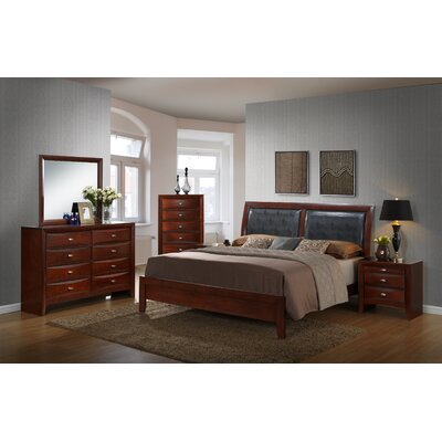Plumcreek 111 Panel 6 Piece Bedroom Set Size: Queen