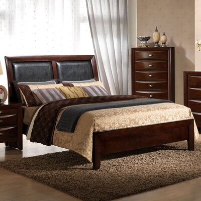 Plumcreek Upholstered Panel Bed Size: King