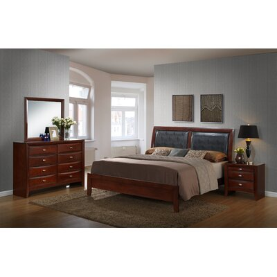 Plumcreek Panel 4 Piece Bedroom Set Size: King