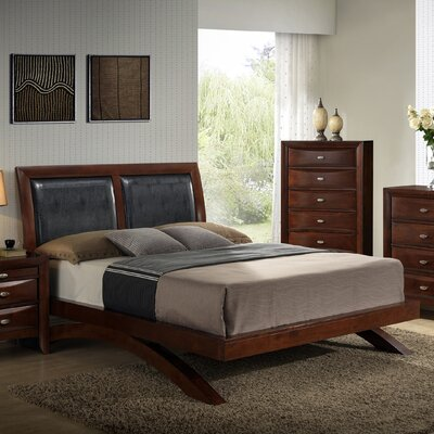 Plumcreek Upholstered Platform Bed Size: Queen