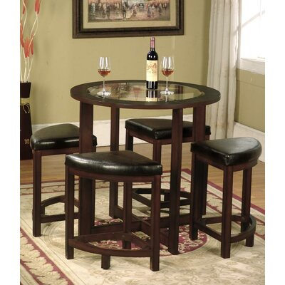 Plumwood 5 Piece Dining Set
