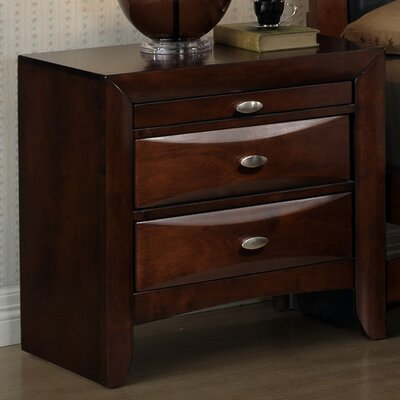 Plumcreek 3 Drawer NightStand