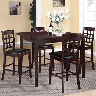 Plymouth 5 Piece Counter Height Dining Set